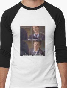 I don't hate you... Men's Baseball ¾ T-Shirt