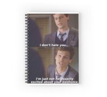 I don't hate you... Spiral Notebook