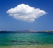 Beach vs Cloud by Julian Raphael Prante