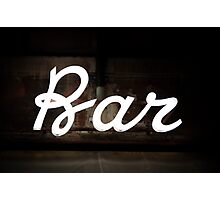 Bar, Trastevere Photographic Print