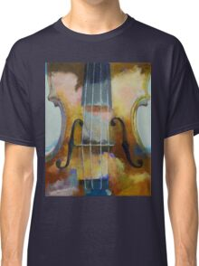 Violin Painting Classic T-Shirt