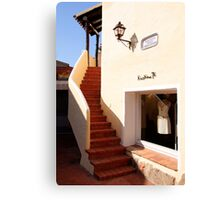 Boutique, Porto Cervo Canvas Print