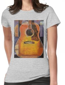 Guitar Womens Fitted T-Shirt