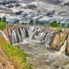 Hogenakkal waterfalls (India) by Frostworld