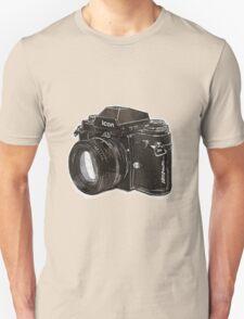 Analog 35mm Nikon F3 single reflex camera Unisex T-Shirt