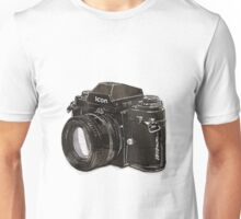 Analog 35mm Nikon F3 single reflex camera Unisex T-Shirt