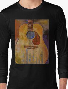 Acoustic Guitar Long Sleeve T-Shirt