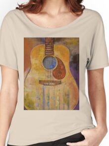 Acoustic Guitar Women's Relaxed Fit T-Shirt