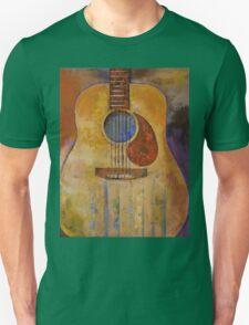 Acoustic Guitar Unisex T-Shirt