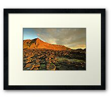 Giants Causeway, N.Ireland  Framed Print