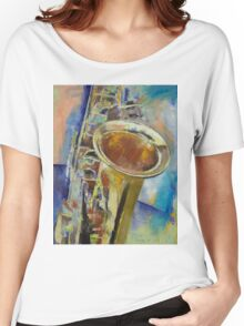 Saxophone Women's Relaxed Fit T-Shirt