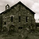 Ireby Old Church (From the East) by Lou Wilson