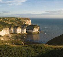 Flamborough coastline by StephenRB