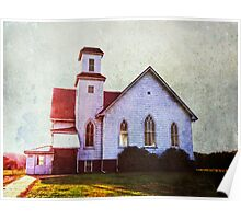 The country church Poster