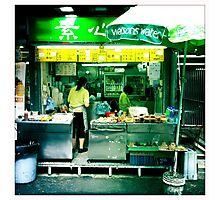 Streetside Eats Photographic Print