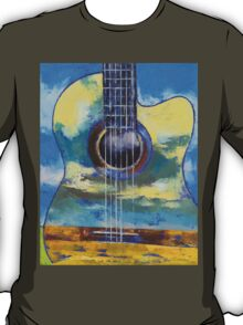 Guitar and Clouds T-Shirt