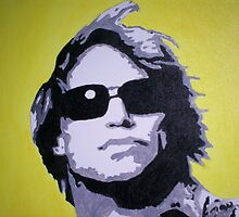 Jon Bon Jovi Canvas Painting by chrisjh2210