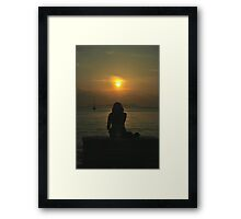 and then....? Framed Print