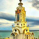 A Church-beacon of Saint Nikolaus by kindangel