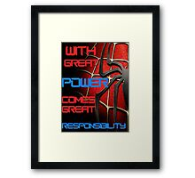 Spider-Man Framed Print