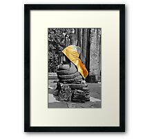 Silent Buddha Framed Print