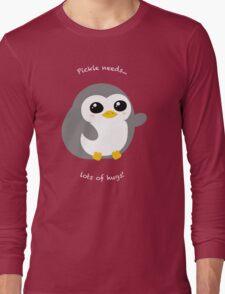 Pickle the Penguin Long Sleeve T-Shirt