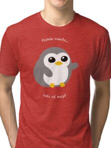 Pickle the Penguin Tri-blend T-Shirt