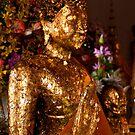 Buddha in Gold by Drew Walker