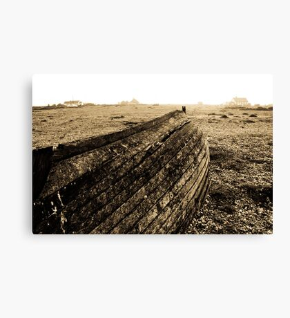 Overturned Canvas Print