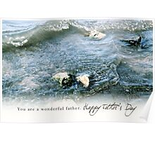 You Are a Wonderful Father, Happy Father's Day Poster
