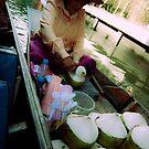 Selling Coconuts by Drew Walker