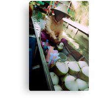 Selling Coconuts Metal Print