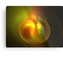 Autumn Peach Metal Print