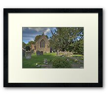 All Saints' Church, Sutton Courtenay Framed Print