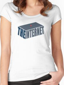 This, Jen, is the internet.  Women's Fitted Scoop T-Shirt
