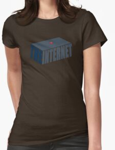 This, Jen, is the internet.  Womens Fitted T-Shirt