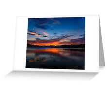 Sunset wings  Greeting Card