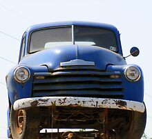 1949 Chevrolet Pickup Truck by Jean Gregory  Evans