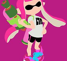Inkling Girl (Pink) - Splatoon by samaran