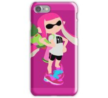 Inkling Girl (Pink) - Splatoon iPhone Case/Skin