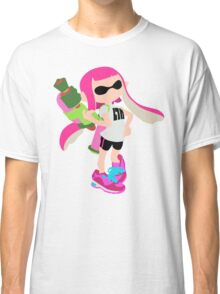 Inkling Girl (Pink) - Splatoon Classic T-Shirt