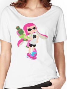Inkling Girl (Pink) - Splatoon Women's Relaxed Fit T-Shirt