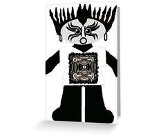 Little Goth Rag Doll Wearing Mommy's Art 10 Greeting Card