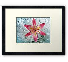 Dignified passion Framed Print