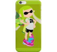 Inkling Girl (Green) - Splatoon iPhone Case/Skin