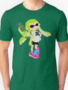 Inkling Girl (Green) - Splatoon Unisex T-Shirt