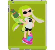 Inkling Girl (Green) - Splatoon iPad Case/Skin