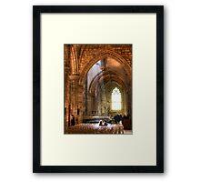 St Giles' HDR Framed Print