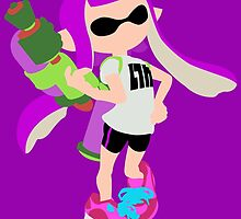 Inkling Girl (Purple) - Splatoon by samaran