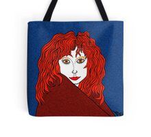 Blue, White, and Redheads Rock Tote Bag